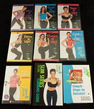 NIB Lot of 7 DVD Beachbody Debbie Siebers Slim in 6 Series Tone it up + Bonuses!