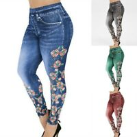 Skinny Waist Jegging Women Stretch Jeans Denim Pencil Trousers Pants High