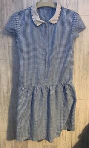 Girls Age 12 (11-12 Years) School Dress Blue