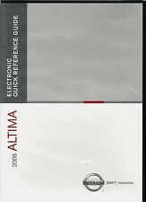 NISSAN ALTIMA 2008 Electronic Quick Reference Guide instructional DVD
