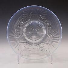 Jobling art deco opaline/opalescent verre fleurs plaque