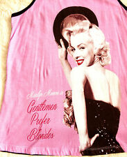 Peter Alexander Icon Marilyn Monroe Gentlemen Prefer Blondes long vest Top Sml