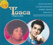 Giacomo Puccini - Tosca GA (2-CD, Price, Domingo, Milnes, Mehta, Alldis Choir)