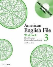 American English File 3 Workbook: with Multi-ROM, Seligson, Paul, Latham-Koenig,