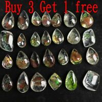 1PC NEW Natural Ghost Phantom Quartz Crystal Gems Specimen Healing Pendant