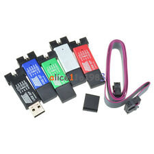 Mini USBISP USBASP Programmer Aluminum for 51 ATMEL AVR WIN7 64