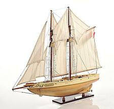 Bluenose II Fully Assembled Handcrated Wooden Boat Model
