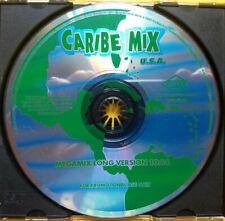 CARIBE MIX Megamix Long Version PROMO CD SINGLE Salsa MERENGUE Spanish DANCE 97