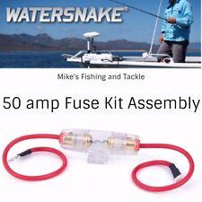 Jarvis Walker Watersnake Trolling Motor Fuse Kit Assembly 50 Amp