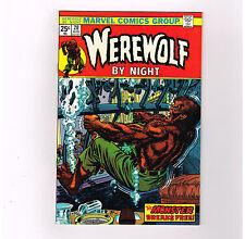 "Werewolf By Night #20 Grade 9.4 Bronze Age find! ""The Monster Breaks Free!"""