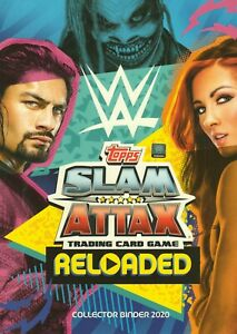 2020 Topps WWE SLAM ATTAX RELOADED Hall of Fame PPV Booster Tag Team #163 - #304