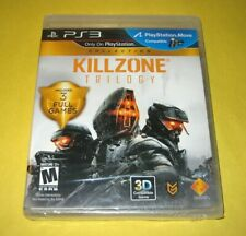 Killzone Trilogy Collection - PlayStation 3 PS3 - New Y-Fold Sealed Black Label