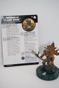 PRISONER OF PLANET DOOM   # 063  Fantastic Four Future Foundation Heroclix