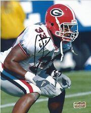 "Odell Thurman Autographed/Signed Sec Georgia Bulldogs Ncaa 8x10 Photo ""Up Close"""