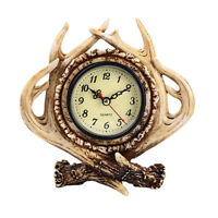 Battery Operated Vintage Decorative Alarm Clock Bedside Table Desk Clock