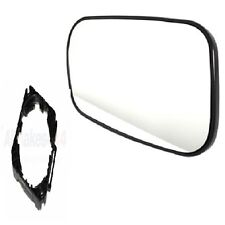 LAND ROVER DISCOVERY 1 DOOR MIRROR GLASS RH WITH MOUNTING CLIP STC4625+CRD100640