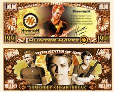 Hunter Hayes  Million Dollar Novelty Money