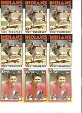 18 CARD RICH THOMPSON BASEBALL CARD LOT           1