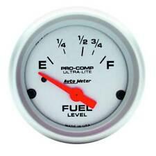 "Autometer Ultra-Lite 2-1/16"" Fuel Level 73-10 Ohm Gauge for pre-89 Ford/Chrysler"