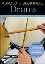 Absolute Beginners: Drums (With Subtitles), Very Good,  Book