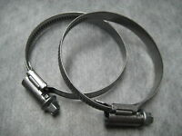Narrow Band 9mm Steel Hose Clamp 50-70mm - Made in Germany Pk of 2 - Ships Fast!