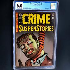 CRIME SUSPENSTORIES #20 (EC 1953) 💥 CGC 6.0 💥 CLASSIC PCH COVER! USED IN SOTI