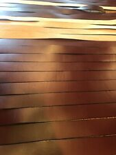 24 6-7oz 1.5� Wide Genuine Leather Strips Lengths Range From 44� To 80�