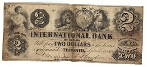 INTERNATIONAL BANK OF CANADA $2 Note