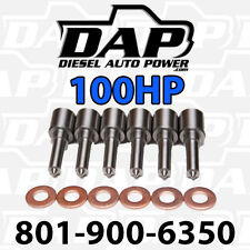( 6 ) 100HP NOZZLES FITS DODGE CUMMINS DIESEL 1998 - 2002 injectors VP44  100 HP