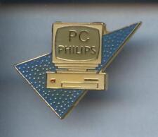 RARE PINS PIN'S .. INFORMATIQUE COMPUTER ORDINATEUR  PC PHILIPS  ¤3R