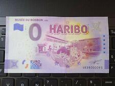 BILLET EURO SOUVENIR 2021-3 MUSÉE DU BONBON UZÈS