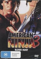 American Ninja 3 - Blood Hunt  - Region 2 Compatible DVD (UK seller!!!)  NEW