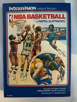 NBA BASKETBALL - INTELLIVISION - COMPLETE W/ MANUAL - FREE S/H - (B60A)