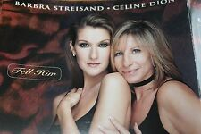 Barbra Streisand Celine Dion - UK CD / Tell Him - COL 665205 2