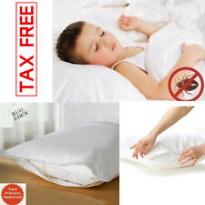 BED PILLOWS King Size Set Hypoallergenic Microfiber Comfort Sleep 36 x 20 2 PACK