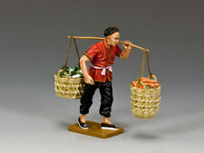 King & Country The Streets Of Old Hong Kong Hk267M Vegetable Coolie Mib