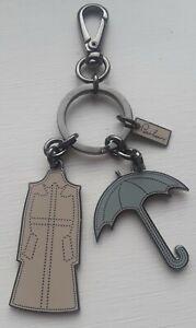 Burberry Umbrella and Raincoat keyring