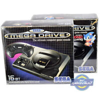 1 x Box Protector for Sega Mega Drive Console STRONG 0.5mm Plastic Display Case