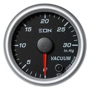 EON Vacuum Gauge Black Face
