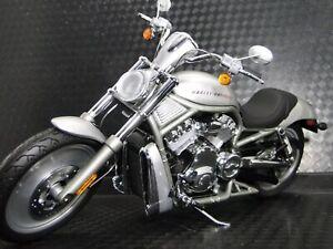 Harley Davidson Built Motorcycle Model Chopper Easy Rod Touring Bike Rider V