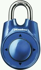 Master Lock Speed Dial Combination Secure Lock, Assorted Colors, FREE SHIPPING