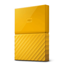 WD My Passport 2TB Yellow Portable Hard Drive by Western Digital 3 year limit...