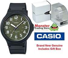 CASIO SPORTS WATCH WATER RESISTANT MW-240-3BV 12 MONTH WARRANTY