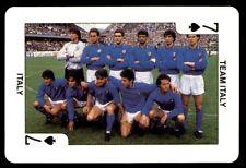 Dandy Gum Euro 88 - Seven of Spades Team Italy