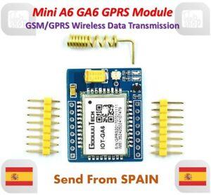 mini A6 GSM GPRS Kit GA6 Wireless Extension Modulo Board Antenna Super SIM800L