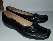 Enzo Angiolini black leather patent loafers. 7