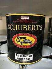 Schuberts 4LT Toyota 061 Diamond White 2K Pre-Mixed, Automotive Paint. Ratio 2:1