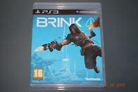 Brink PS3 Playstation 3 **FREE UK POSTAGE**
