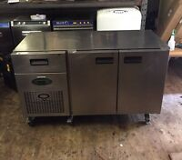 Foster Counter Top / Prep Top Commercial Stainless Steel Fridge With Drawer