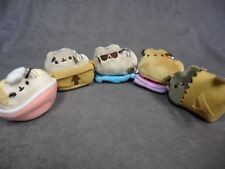Gund New * Pusheen Blind Box - Set of 5 * Series 3 Places Cats Sit Box Book Bowl